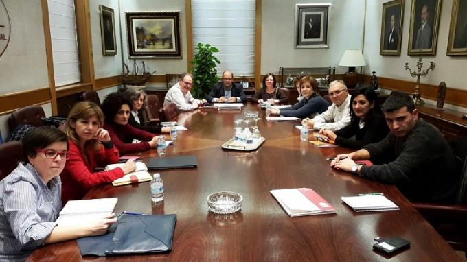 Reunión Mesa Social Diputación