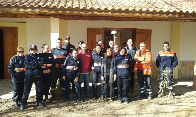 Curso del INFOCAM para Voluntarios de Protección Civil