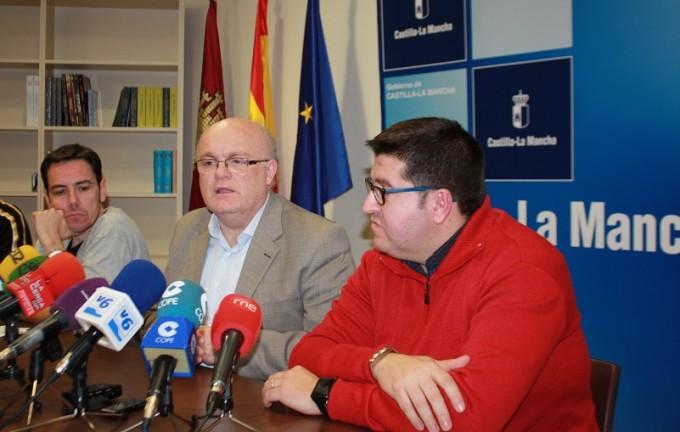 Foto Rueda de Prensa JCCM Albacete y UGT