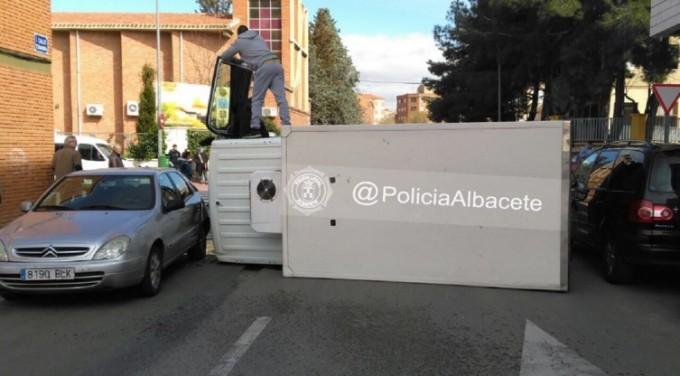 accidente policia 1
