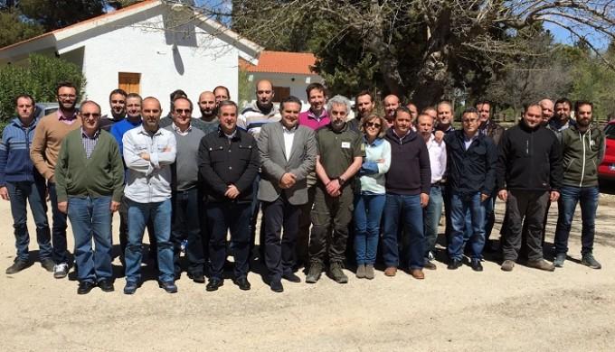 FOTO CURSO SOBRE EXTINCIÓN DE INCENDIOS EN ALBACETE