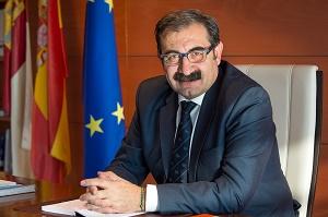 Jesús Fernández Sanz. Consejero de Sanidad de la Junta de Comunidades de Castilla-La Mancha. (Foto:Carlos Monroy//JCCM)