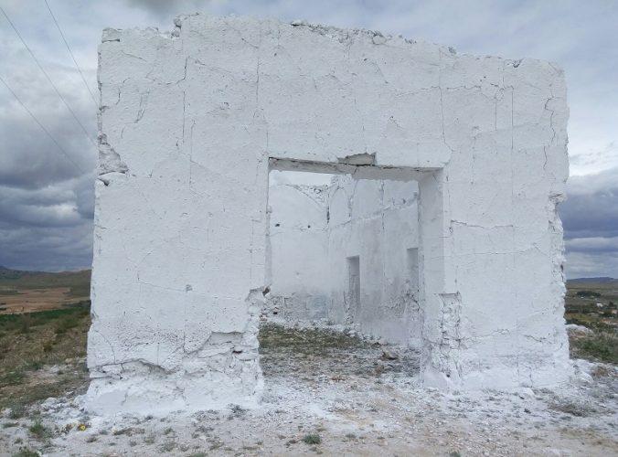 cruz de la langosta en Hellín