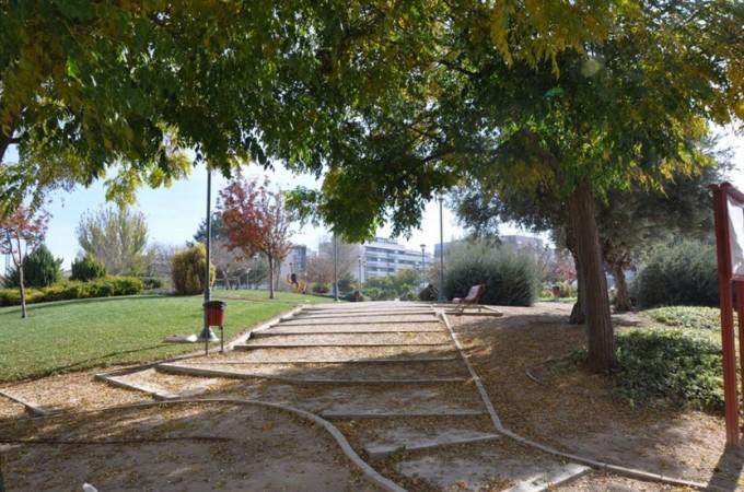 Foto Facebook, parque barrio Facultad de Medicina de Albacete.