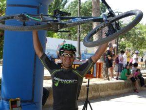 Miguel Muñoz vencedor de la 2º etapa.