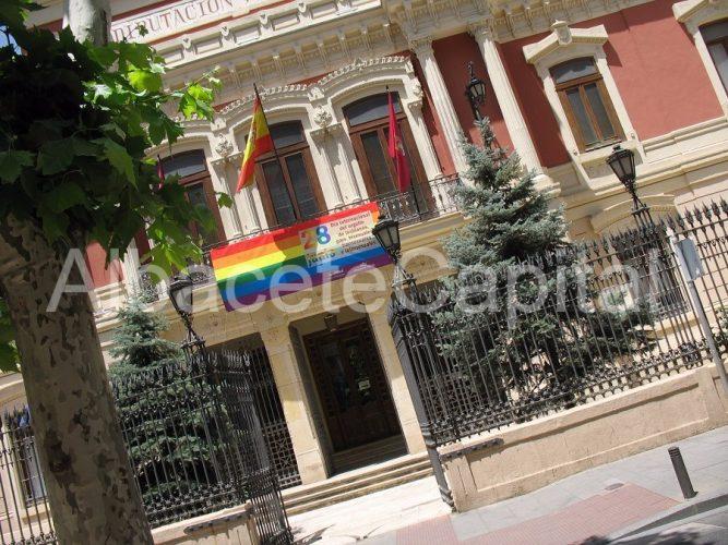 bandera multicolor diputación