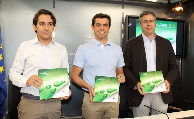 Foto.Presentación Informe Responsabilidad Social 2015 Aguas de Albacete