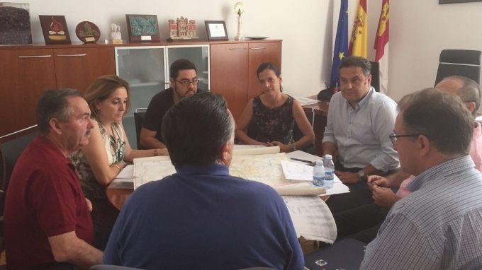 FOTO REUNION JCCM ALBACETE- REGADIOS EL FONTANAR
