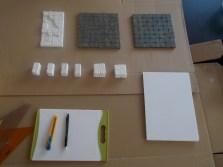 Rock Caven Teile, Game Tiles, Master Maze Tiles als Referenz