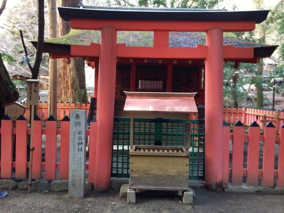 Kuil pertama di kompleks Kasuga Taisha
