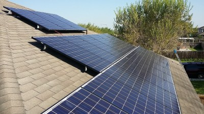 Brownsville, Texas Home Solar Panel Install-2