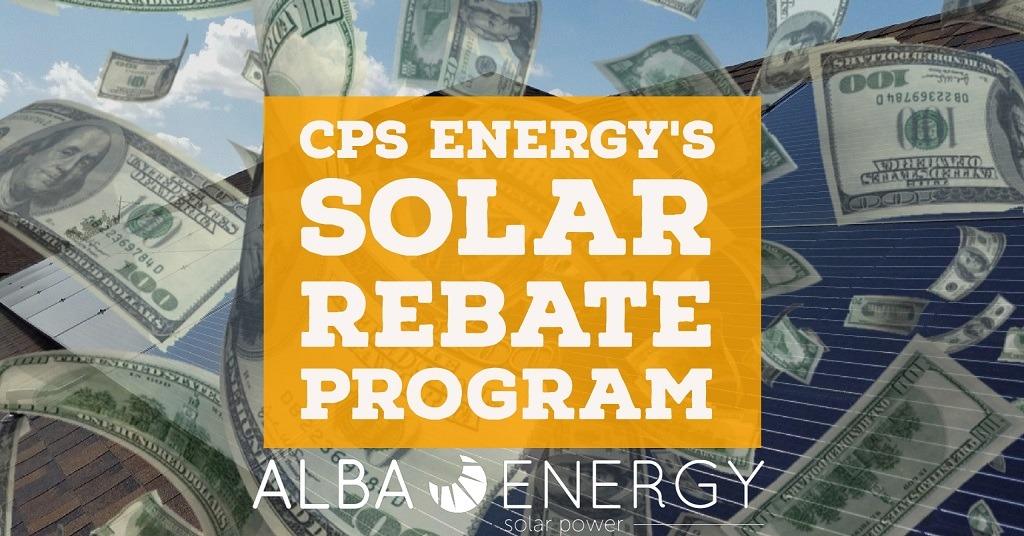 CPS Energy's Solar Rebate Program In San Antonio