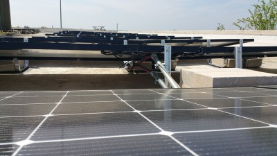 Commercial Solar Panel Install Victory Medical Austin Texas-4