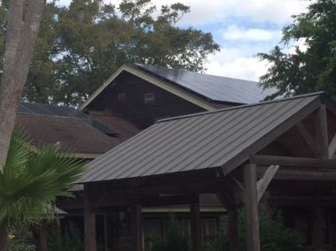 Detail of Harlingen TX Solar Panel Install by Alba Energy