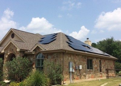 13.34 kW Solar Panel Install in Dripping Springs, Texas