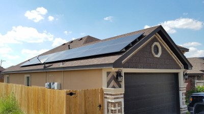 McAllen Texas Home Solar Panel Installation