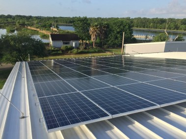 Sea Center Texas Solar Install4