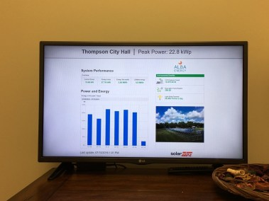 Solar Power System Monitoring Thompson Texas