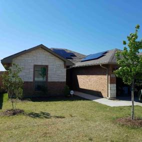 Dallas Texas Home Solar Panel Installation-1