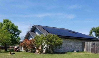 Sachse Texas Home Solar Panel Install