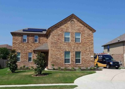 6 kW Home Solar Power System In Pflugerville, Texas