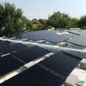 Weslaco Texas Home Solar Panel Install-1
