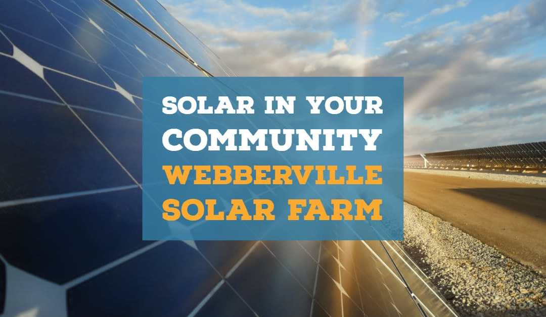 Solar In Your Community – Webberville Solar Farm