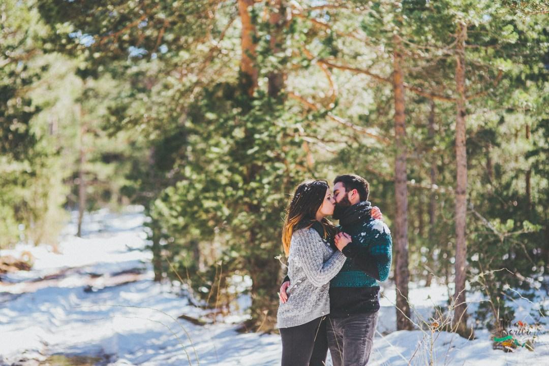 Sesión pareja nieve - Alba Escrivà -6794