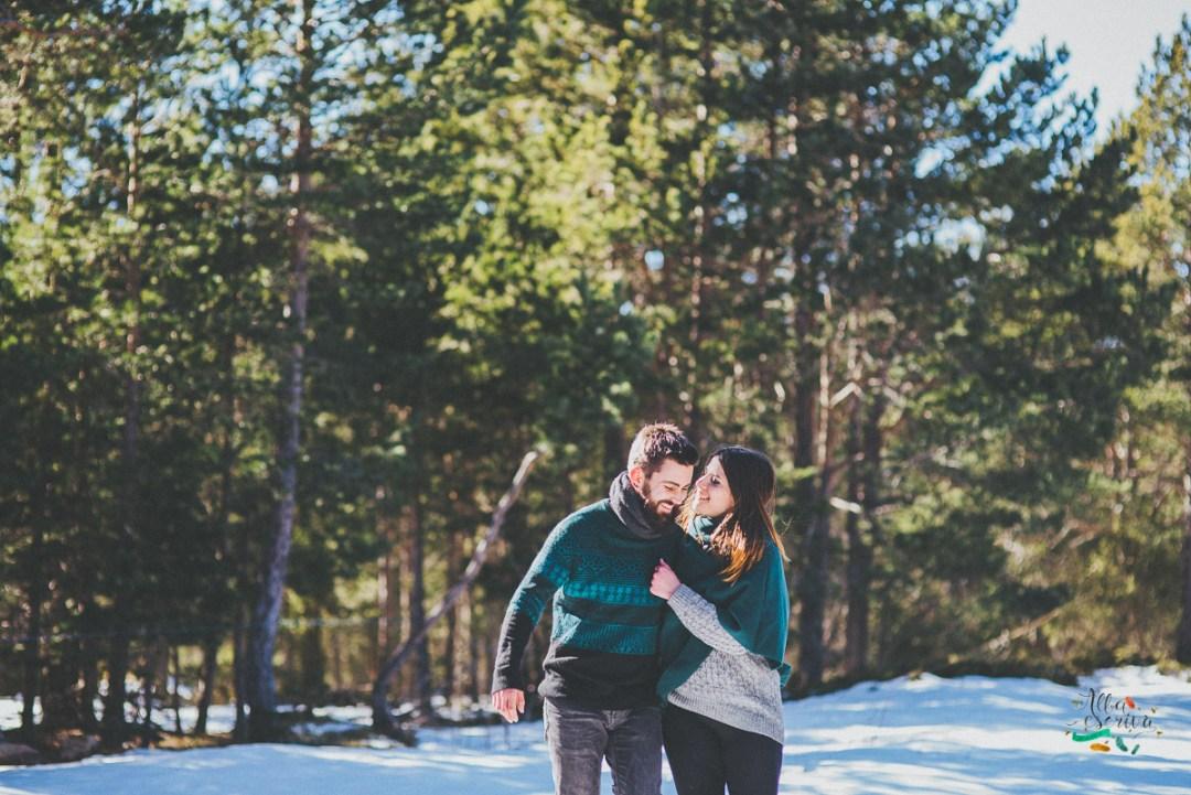 Sesión pareja nieve - Alba Escrivà -6838