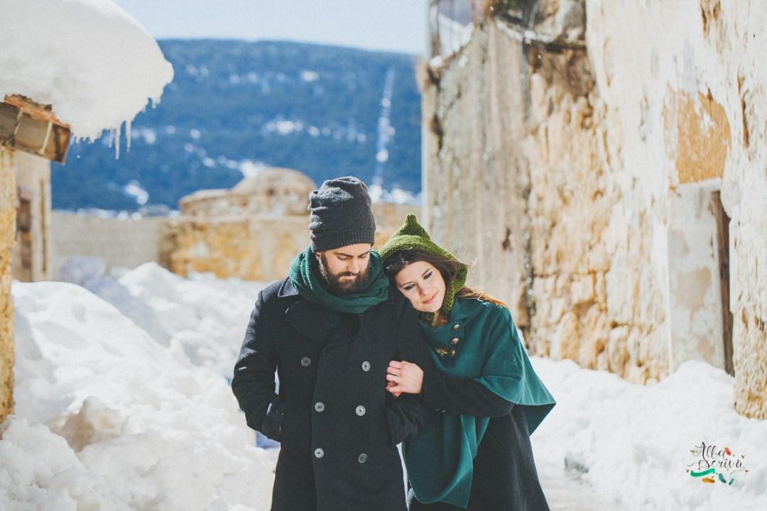 Sesión pareja nieve - Alba Escrivà -6996