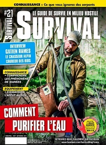 Couverture survival magazine 21
