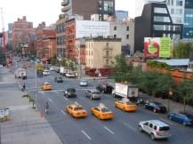 Vue sur une rue de New York depuis la High Line © Taste of USA