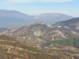 View of Petrela castle from Mumajes