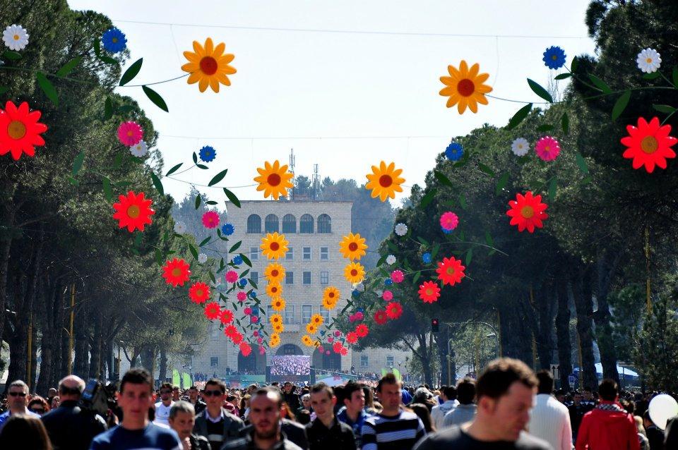 Summer's Day in Tirana