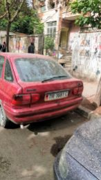 Dirty car in Tirana