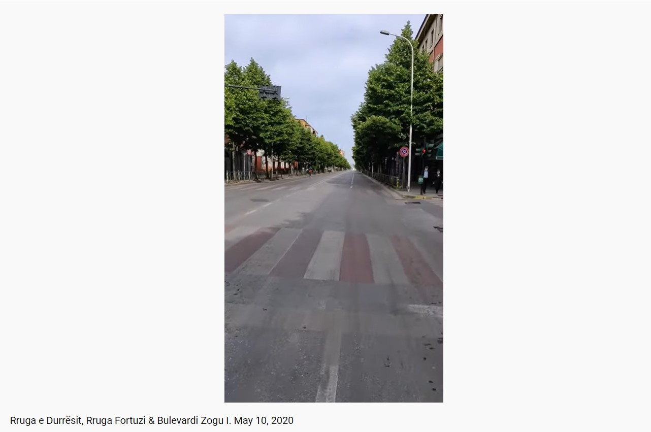 Tirana Rruga e Durresit & Rruga Fortuzi