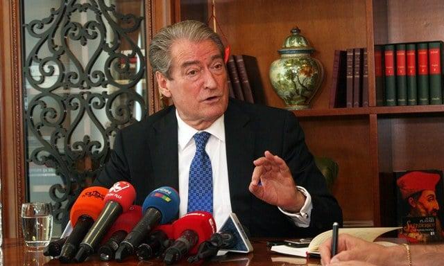 Former Albanian prime minister Sali Berisha. Photo: LSA
