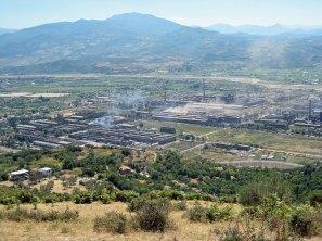 Grosse Fabrik »Stahl der Partei« bei Elbasan – heute ist hier kaum mehr Betrieb