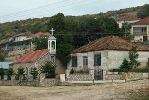 Dorf Gollomboç/Globozeni, Albanien
