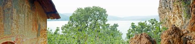 Maligrad: Insel im Prespasee