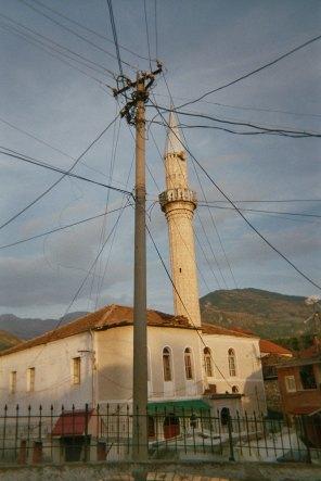 Peshkopia: alte Moschee