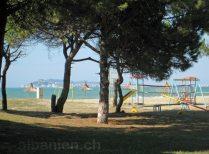 Strand in Durrës Plazh