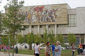 Tirrana: Nationalmuseum von Albanien