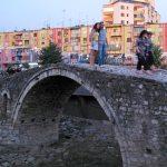Osmanische Brücke in Tirana