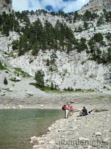 Albanische Alpen: Bergsee