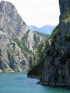 Koman-See, Albanien