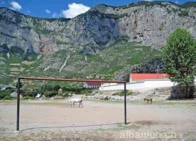 Vukël, Albanien