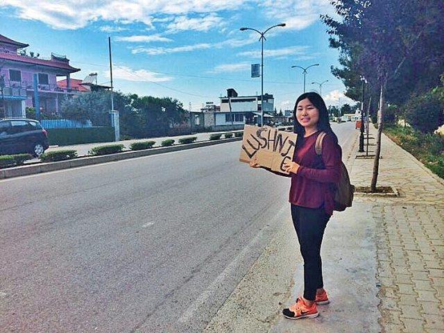 Autostopperin – Frau alleine unterwegs in Albanien