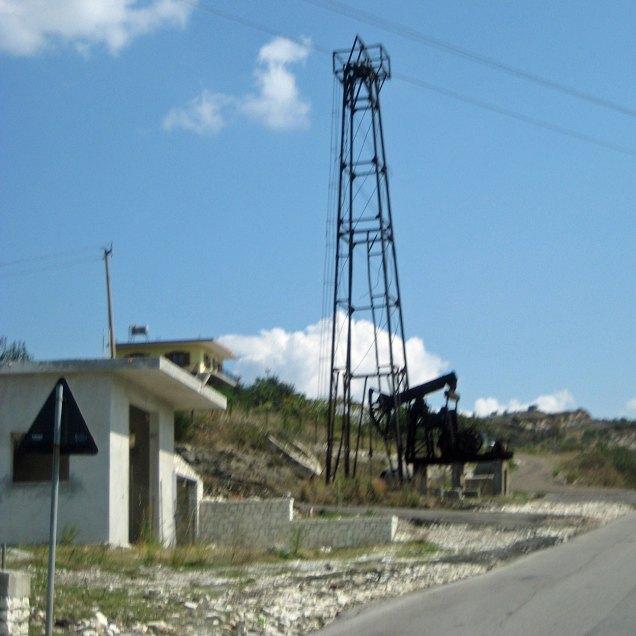 Erdölförderung bei Ballsh