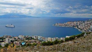 Bucht von Saranda, Albanien